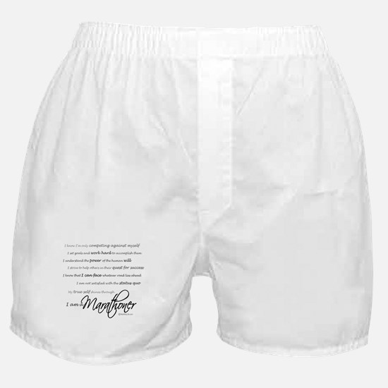 I Am a Marathoner Boxer Shorts