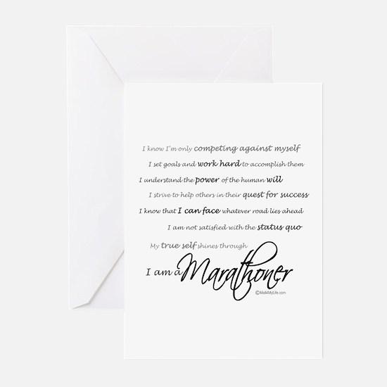 I Am a Marathoner- Blank Cards (Pk of 10)