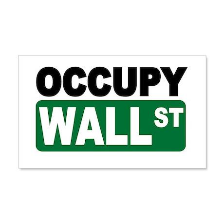 Occupy Wall St. 22x14 Wall Peel