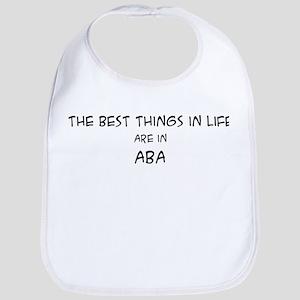 Best Things in Life: Aba Bib