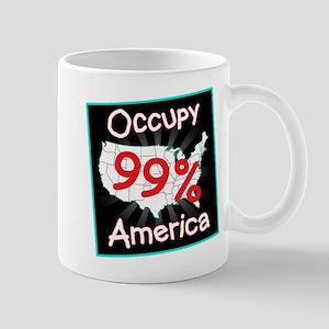 occupy america 99 Mug