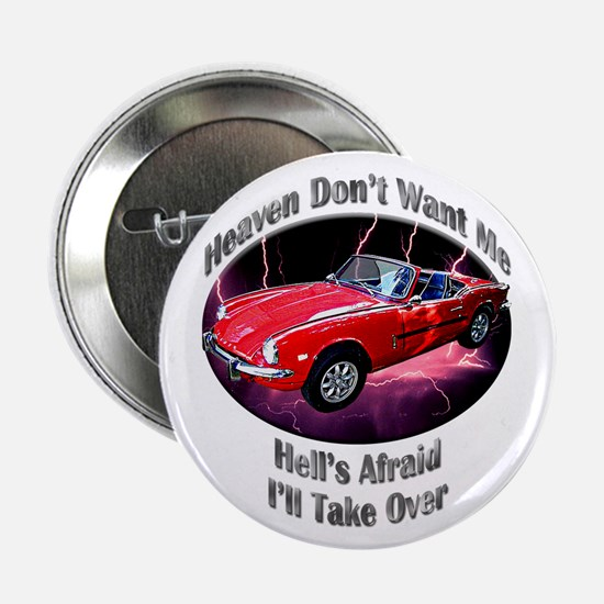 Triumph Spitfire 2.25 Inch Button (10 pack)