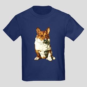 Welsh Corgi Kids Dark T-Shirt