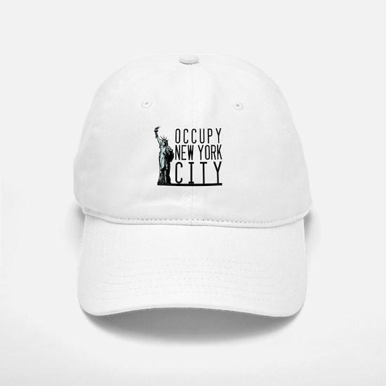 Occupy New York City Baseball Baseball Cap