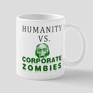 Humanity vs. Corporate Zombie Mug