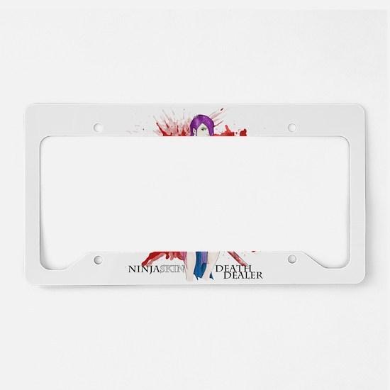 Ninja Skin Death Dealer Light Noble License Plate
