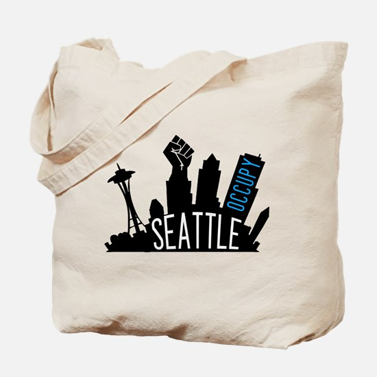 Occupy Seattle Tote Bag