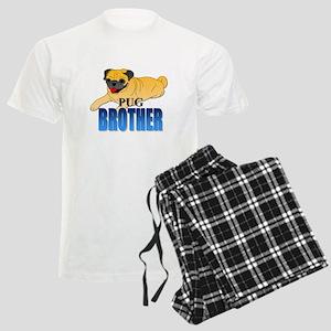 Fawn Pug Brother Men's Light Pajamas