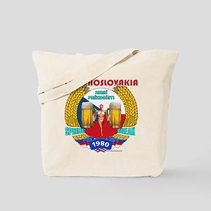 Czechoslovakia 1980 Tote Bag