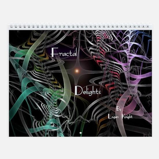 Fractal Delights Wall Calendar