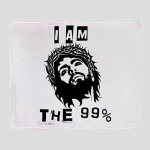 Jesus Is The 99% Throw Blanket