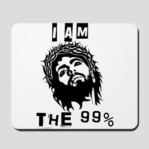 Jesus Is The 99% Mousepad