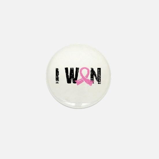 I Won Breast Cancer Mini Button