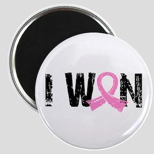 I Won Breast Cancer Magnet