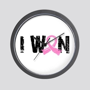 I Won Breast Cancer Wall Clock