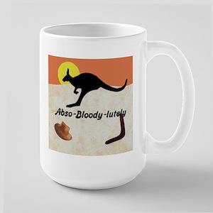 Kangaroo Jill-o 4 Large Mug