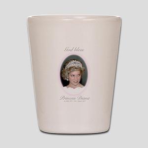 HRH Princess Diana Remembrance Shot Glass
