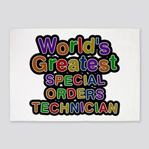 World's Greatest SPECIAL ORDERS TECHNICIAN 5'x7' A