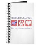 French Bulldog Pawprints Journal