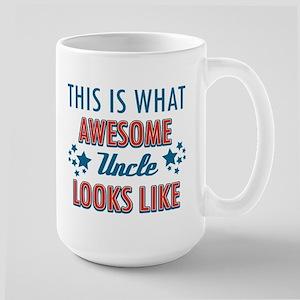 Awesome Uncle Designs Large Mug