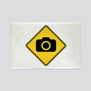 Warning : Photographer Rectangle Magnet