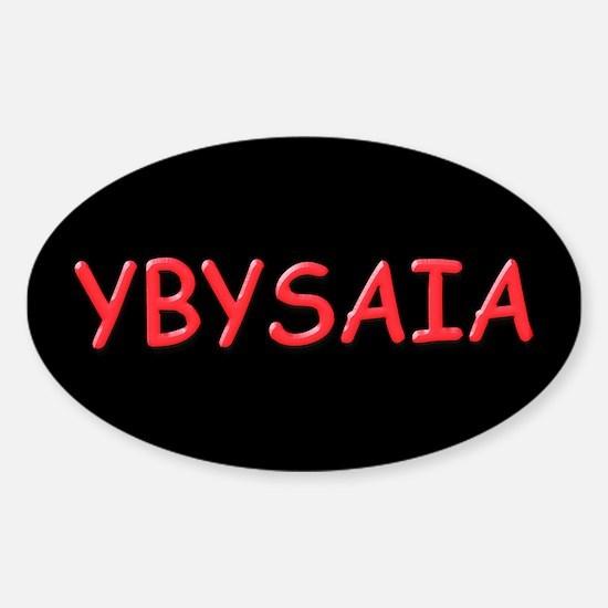 YBYSAIA Oval Decal