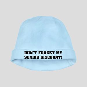 Senior Discount baby hat