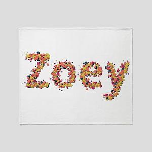 Zoey Fiesta Throw Blanket