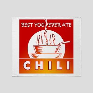 Chili Throw Blanket