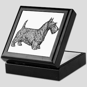 Scottish Terrier Keepsake Box