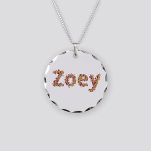 Zoey Fiesta Necklace Circle Charm