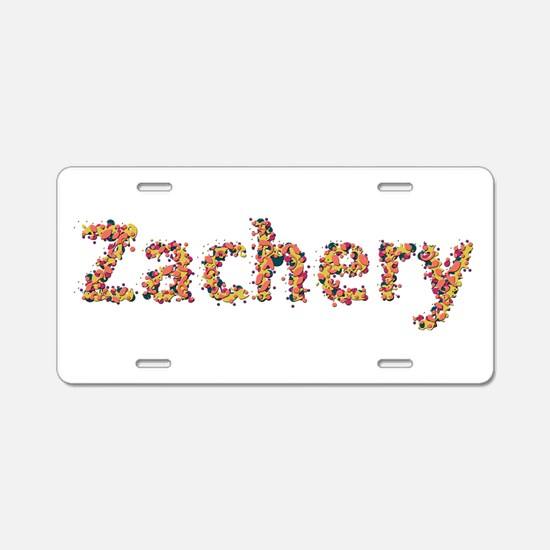 Zachery Fiesta Aluminum License Plate