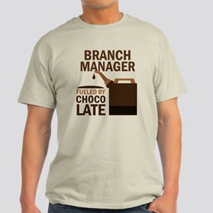 Funny Branch Manager Light T-Shirt