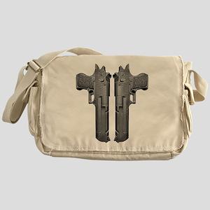 50 Caliber Pistols Messenger Bag