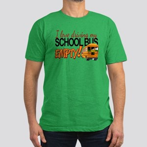 Bus Driver - Empty Bus Men's Fitted T-Shirt (dark)