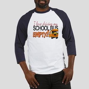 Bus Driver - Empty Bus Baseball Jersey
