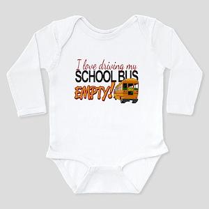 Bus Driver - Empty Bus Long Sleeve Infant Bodysuit