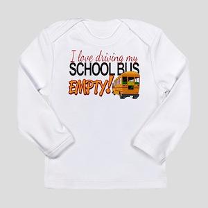 Bus Driver - Empty Bus Long Sleeve Infant T-Shirt