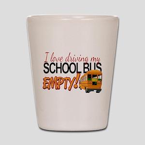 Bus Driver - Empty Bus Shot Glass