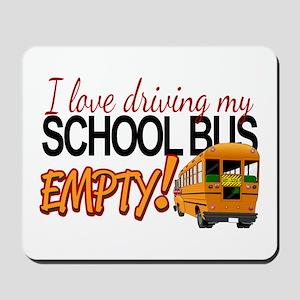Bus Driver - Empty Bus Mousepad