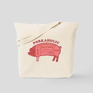 Porkaholic Tote Bag