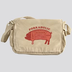 Porkaholic Messenger Bag