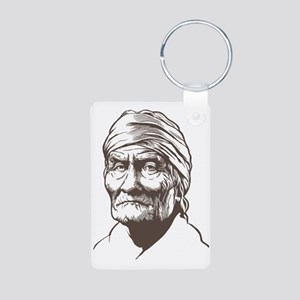 Geronimo Aluminum Photo Keychain
