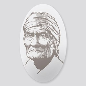 Geronimo Sticker (Oval)