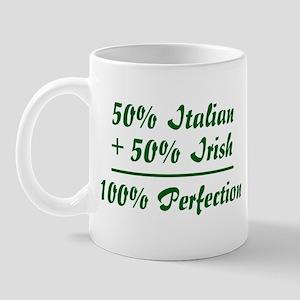 Half Irish, Half Italian Mug
