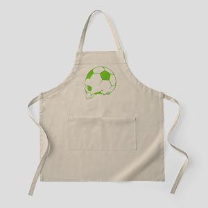 Soccer Skull Apron