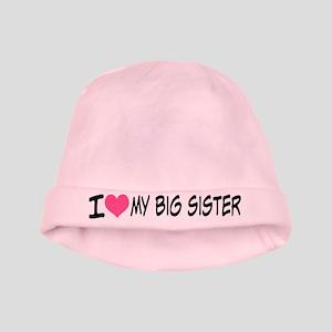 I Heart My Big Sister Baby Hat