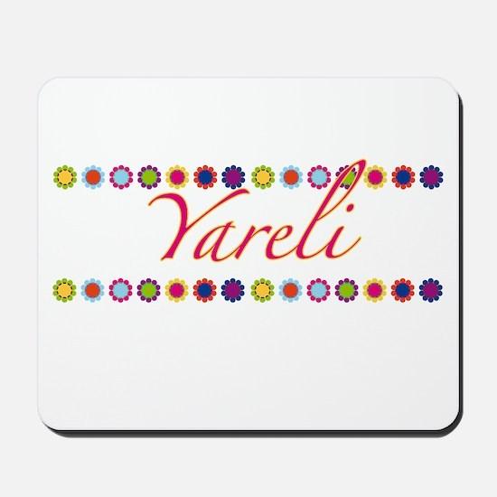 Yareli with Flowers Mousepad