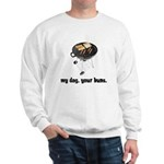 BBQ Grill Humor Sweatshirt