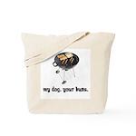 BBQ Grill Humor Tote Bag